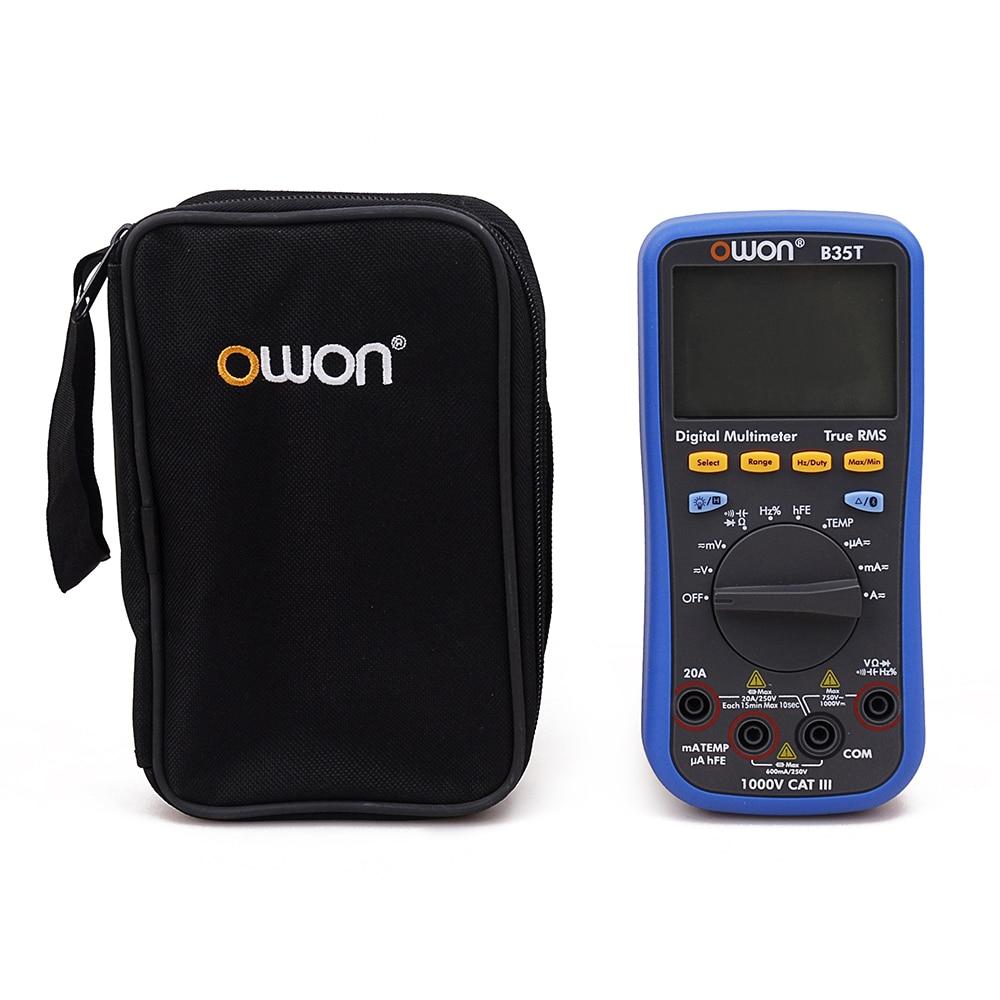 OWON B35T 3 5 6 Digital Multimeter with Bluetooth True RMS Multifunction Meter