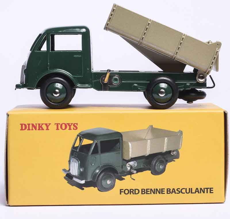 MINIATURES DINKY TOYS 25M EDITIONS ATLAS FORD BENNE BASCULANTE 1/43 CAR MODEL DIE-CAST