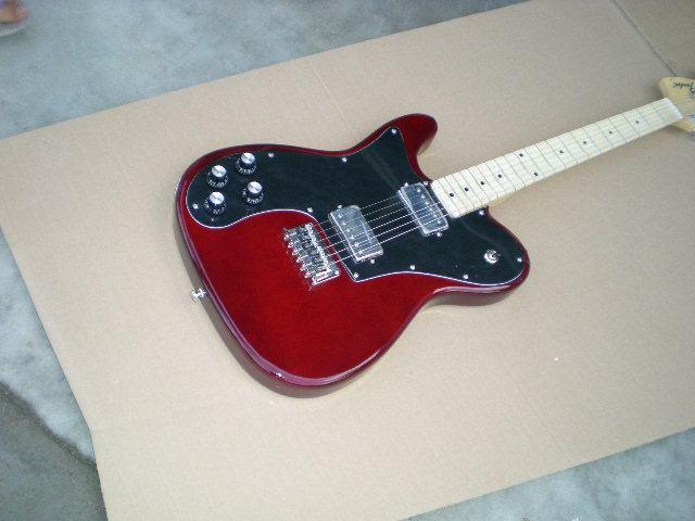 Electric guitar /2018 new guitar / Left-handed / dark red guitar/ Chinese Guitar. 2