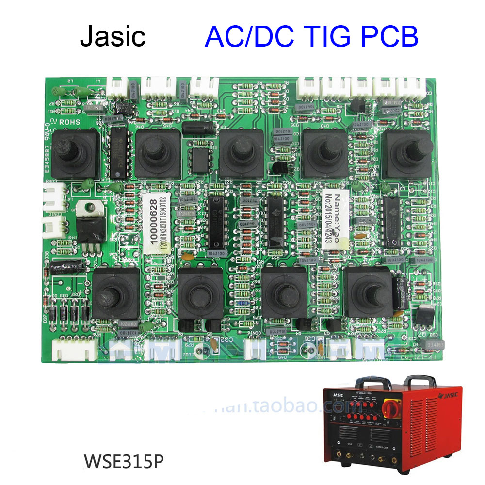 WSE 315P ac dc argon arc welding machine aluminum welding machine control panel