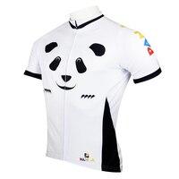 "Paladin ""panda"" mens manica corta cycling jersey bike shirt ciclismo abbigliamento"