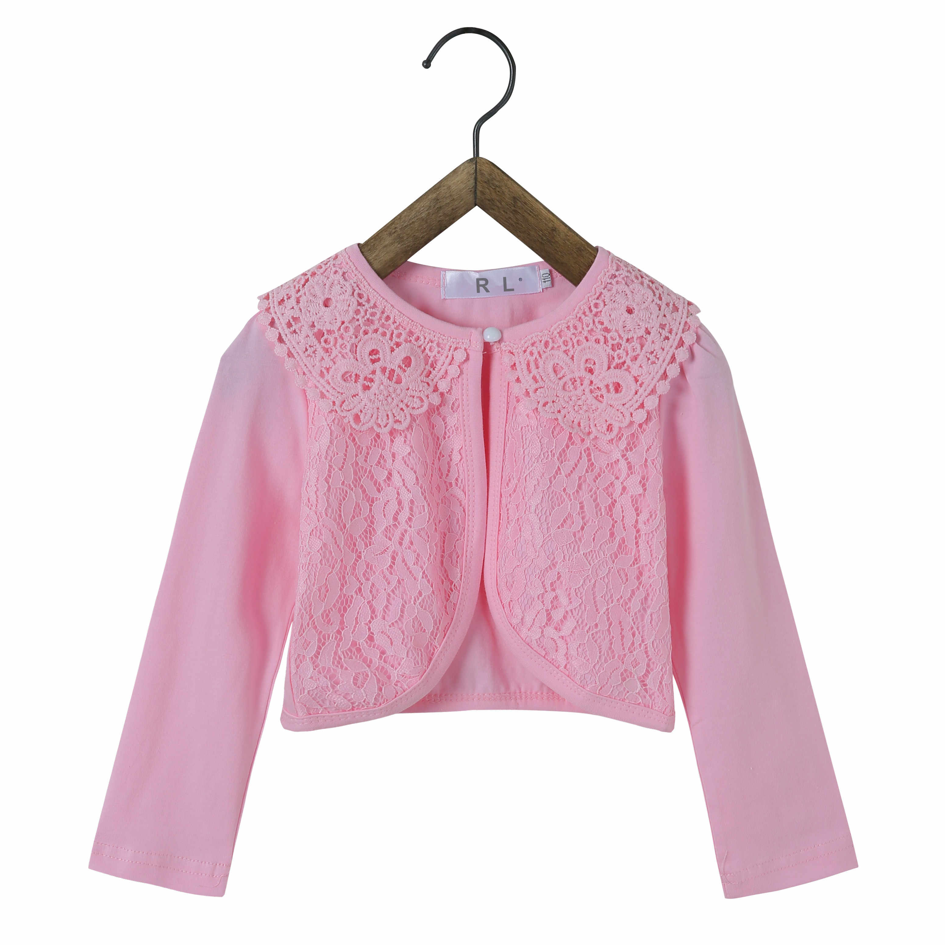 61a023808b047 RL Kids Cardigan Sweater Girls Princess Party Wear Girls Jacket Coat  Children Shrug 2019 Kids Clothing for 1-12 Years Old