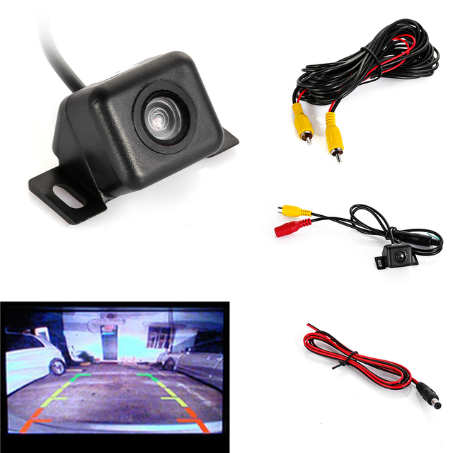 Waterproof HD LED Wide Night Vision Car Reverse Camera Rear View Parking Night Vision Parking Assistance Cameras