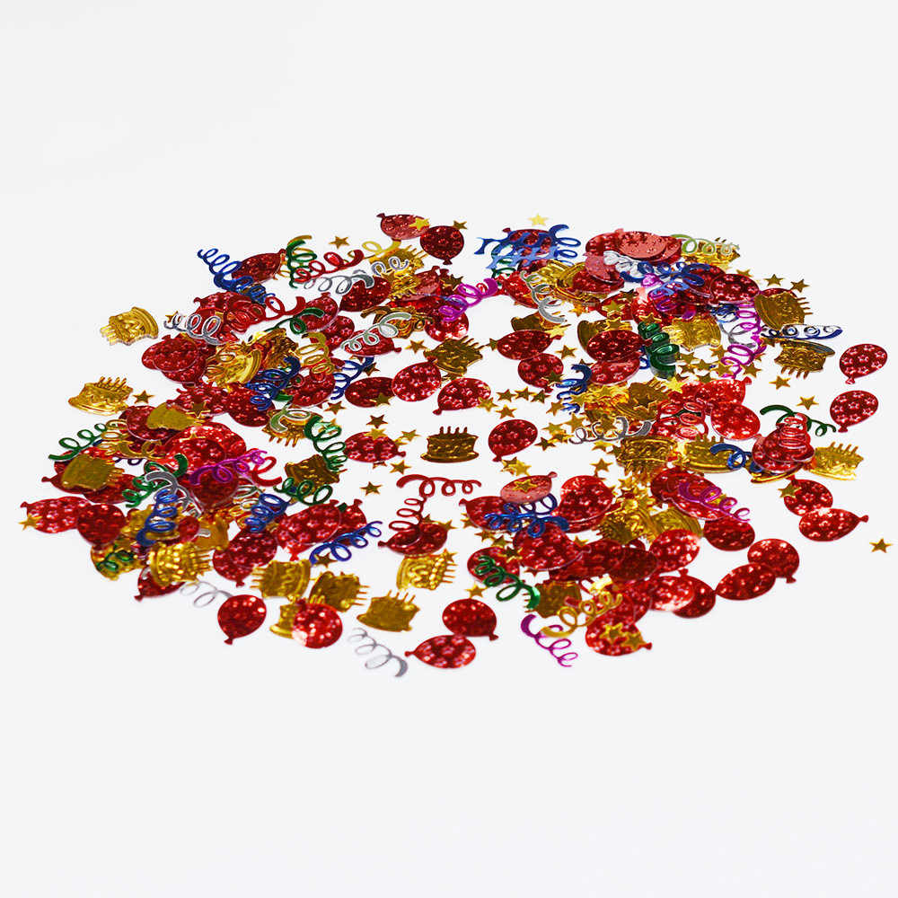 15g Mixed Plastic Confetti Sprinkles Tabletop Balloon Confetti Party Decoration