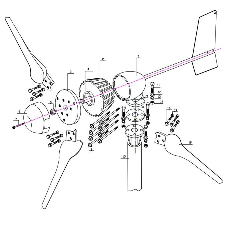 M5-1000W fenjie