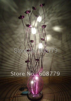 F032 New Arrival Free Shipping Aluminum Flower Floor Lamp