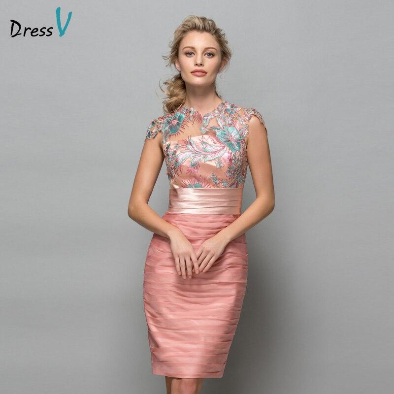 Formal Dresses 2016: Aliexpress.com : Buy Dressv Pearl Pink Chiffon Short