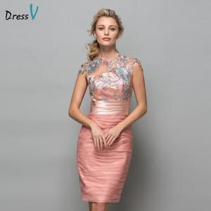 6804d2c5dca3 Dressv Short Cocktail Dresses Knee Length Women Prom Dress