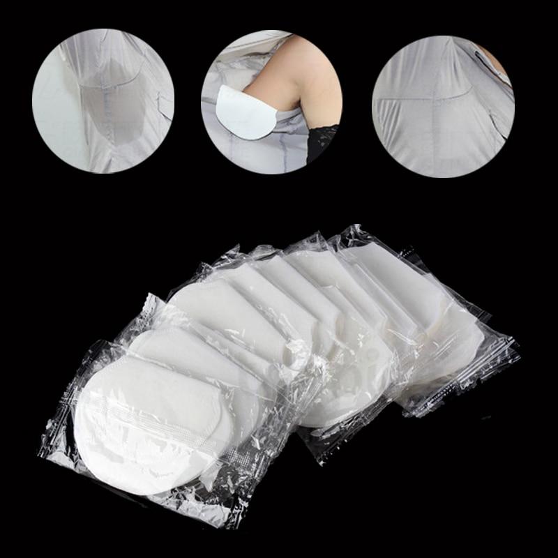 200pcs (100bags)Pairs Sweat Pads Dress Sweat Perspiration Pads Shield Disposable Underarm Armpits Deodorant For Women/Men Armpit