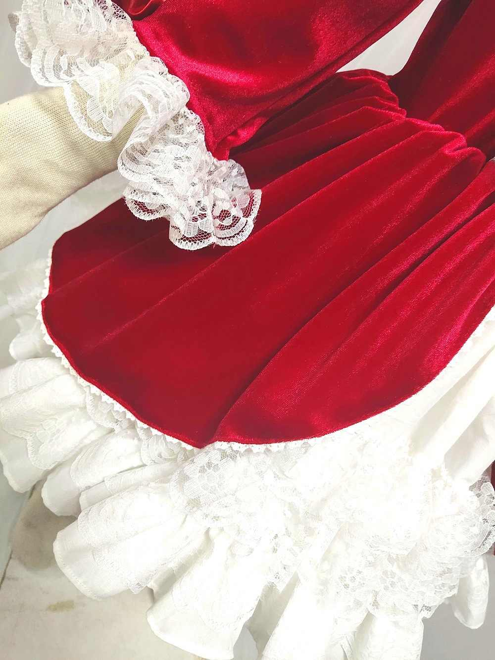 a6b3ee982a9bd 4 PCS Spain Style Girl Dress Royal Costumes Baby Girl Party Princess Dress  Lolita Christmas Clothes Baby Girl Clothing