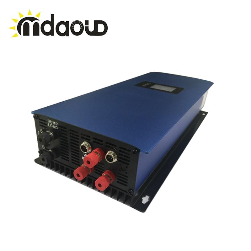2000 W/45-90 V/120/230VAC Vent Grille Cravate Micro Onduleur pour Éolienne/moniteur pour wifi