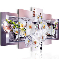 Zhui Star 5D DIY Full Square Diamond Painting Orchid Flower Multi Picture Combination Embroidery Cross Stitch
