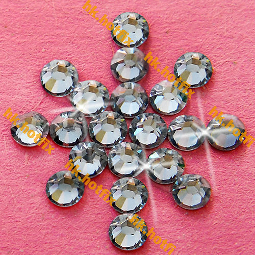 ss12 GENUINE Swarovski Elements Moonlight ( MOL ) 720 pcs 12ss ( NO hotfix Rhinestone )   2088 FLATBACK Crystal