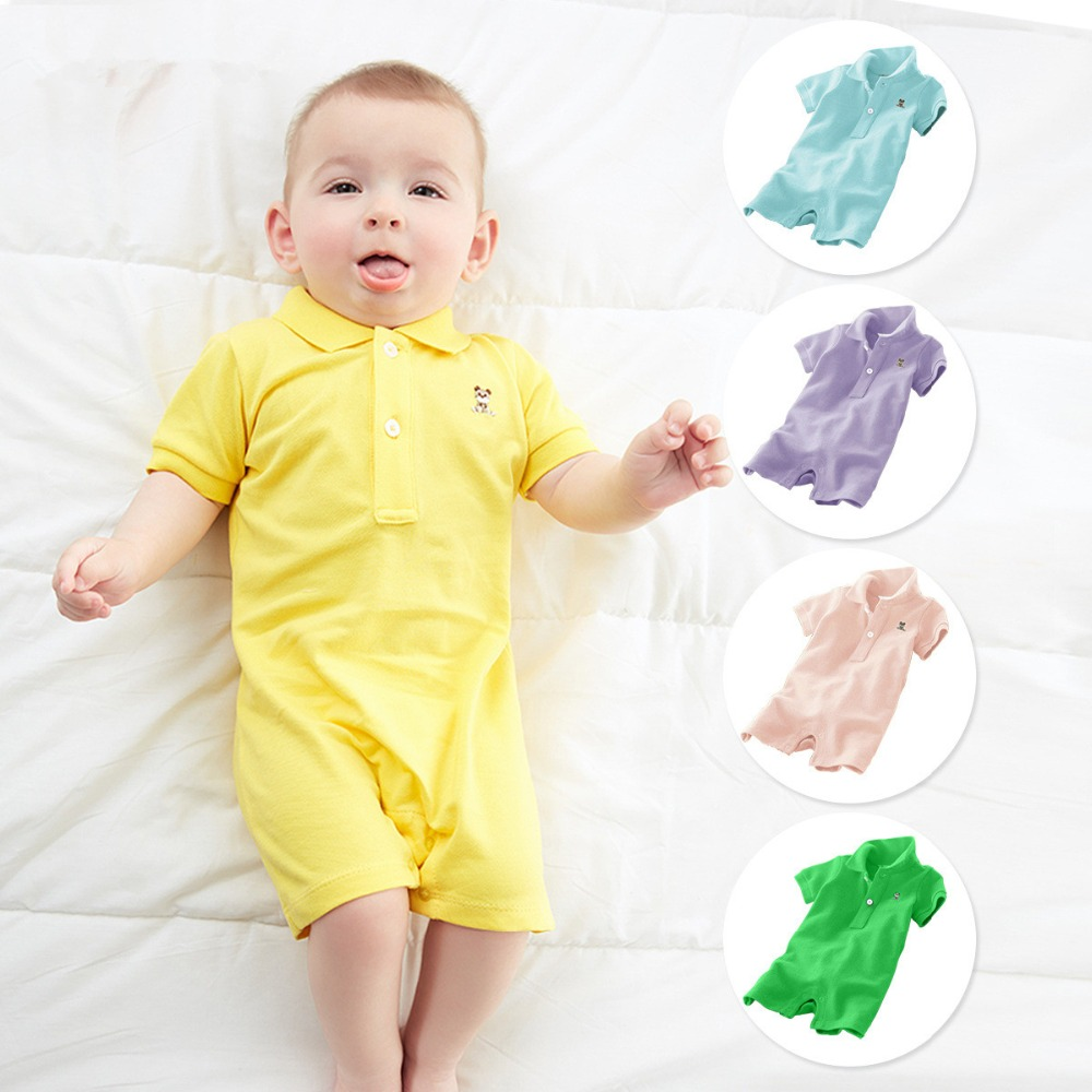 2019 Summer Jumpsuit infant costume Short rompers cotton baby Romper baby clothes newborn Baby Girl Boys  Babies roupas