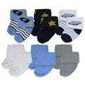 Bebés y niños accesorios calcetines 100% de algodón suave para el bebé recién nacido te Amo Bebé Calcetines meias infantil meias para bebe 0-6 Meses