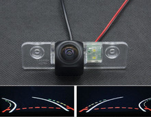 Fisheye Lens 1080P Waterproof Trajectory Tracks Car Rear view Camera For Skoda Octavia 2008 2009 2010 2011 2012 2013 Car Camera спот favourite projector 1770 1u