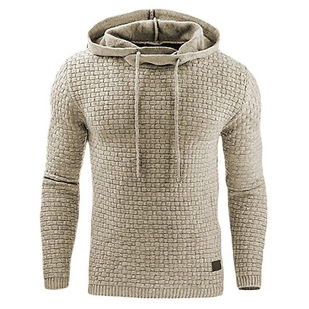 Hoodies Degli Uomini 2018 di Marca Maschio di Colore Solido Manica Lunga Con Cappuccio Felpa Con Cappuccio Mens Tuta Sweat Cappotto Casual Sportswear S-4XL