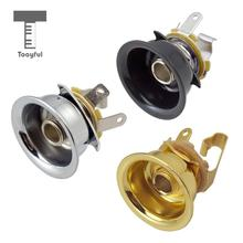 Tooyful 6.35mm 1/4 Jack Stereo Output Socket for Telecaster Electric Guitar Parts