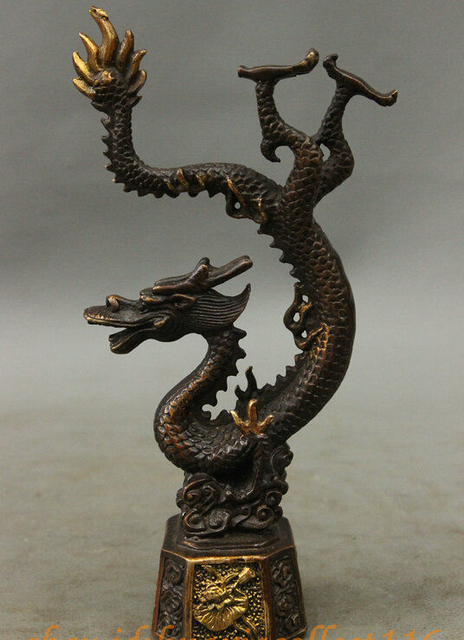 8 fengshui chinese folk bronze lucky wealth lotus year zodiac