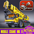 LEPIN 20004 2606Pcs Technic Motor Power Mobile Crane Mk II Model Building Kits  Blocks Toy Bricks Christmas Gift 42009