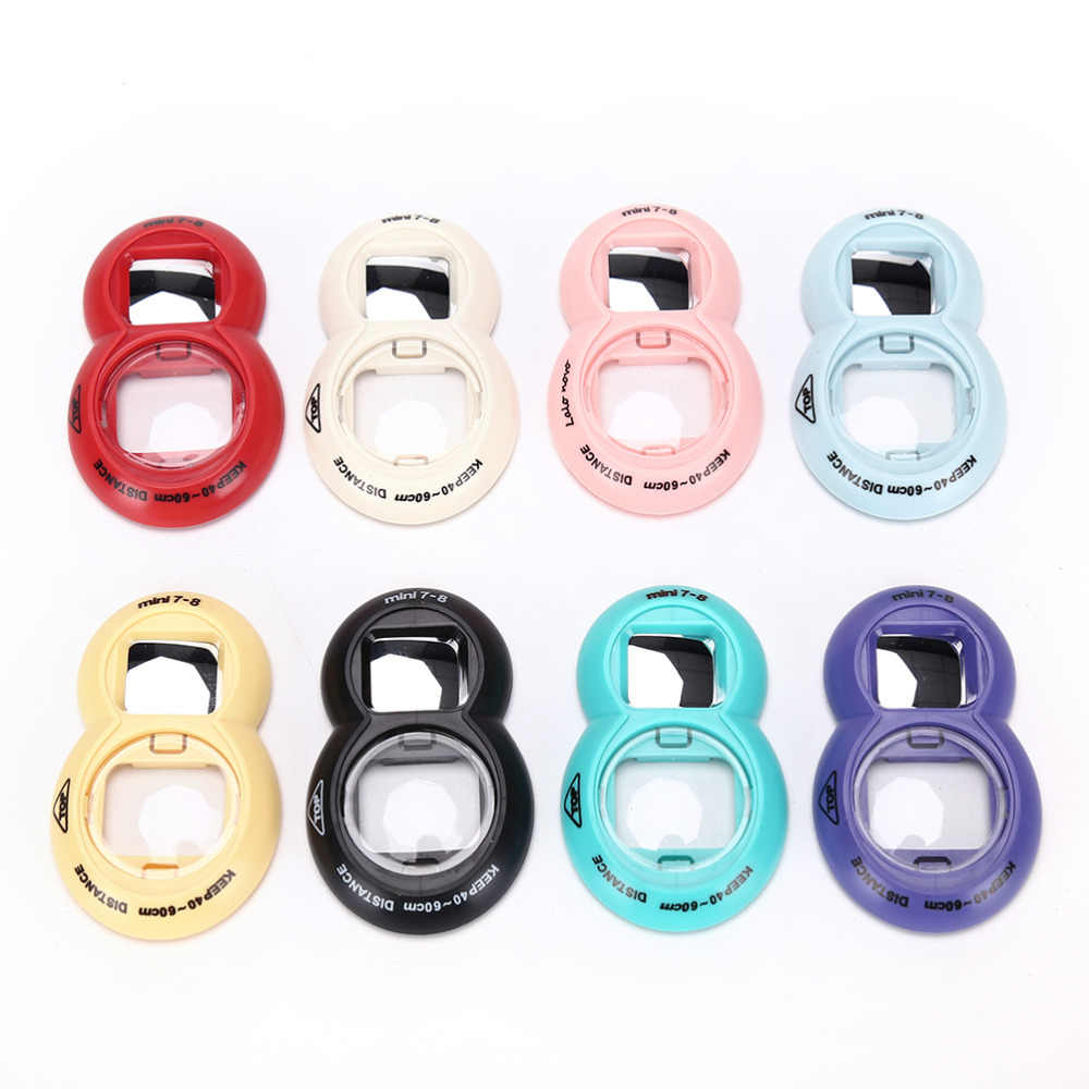 Close-UP Lens Self Portrait Mirror For Fuji FUJIFILM Instax Mini 8/7 Selfie 8Colors