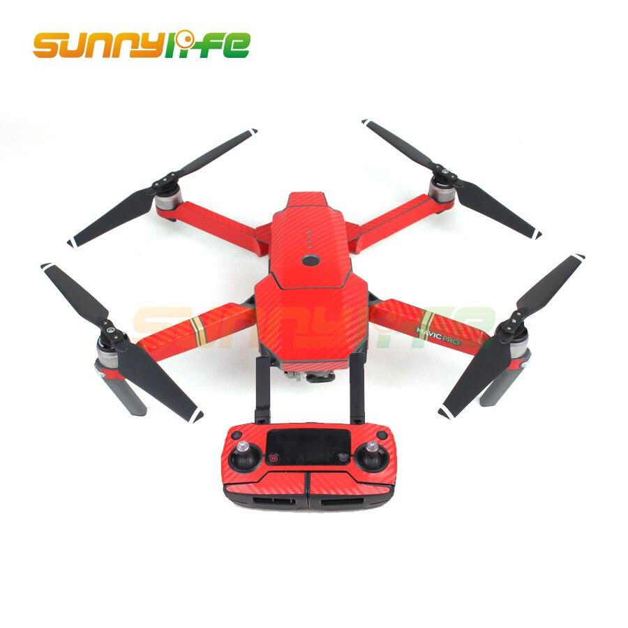 Vodootporni Carbon Grafički Naljepnice Skin Full Wrap Drone Tijelo + - Kamera i foto - Foto 5