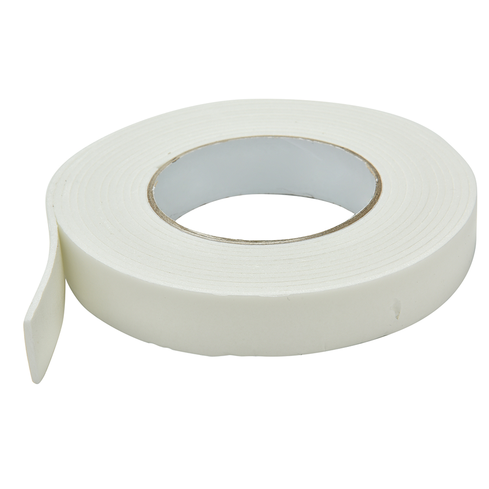 Double sided craft tape - 1pcs White 24mm X 1 8mm X 5m High Quality White Strong Double Sided Sticky Tape