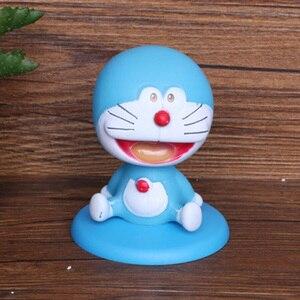 Image 5 - Аниме Doraemon Nobita торт украшение Doraemon облако Топпер для торта «С Днем Рождения» для детского шоу день рождения принадлежности