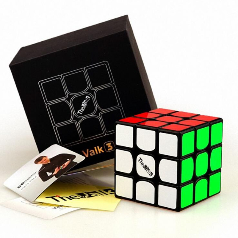 все цены на 1Pcs Valk3 Cube 3x3x3 ABS Sticker Block Valk 3 Puzzle Speed Magic Cube Colorful Learning&Educational Puzzle Cubo Magico Toys