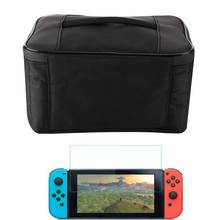 Фотография For Nintend Switch Protective Storage Box Carrying Case Hand bag Large Big Travel Pouch Bag For NS Console NX Pack Accessories