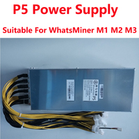 Free Shipping Original WhatsMiner P5 12 2200 V1 2200w Power Supply 6PIN 10 PSU For Whatsminer