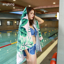 1PC 160X80cm banana leaves print 100% cotton beach towel pure no formaldehyde extra large size sand T4f