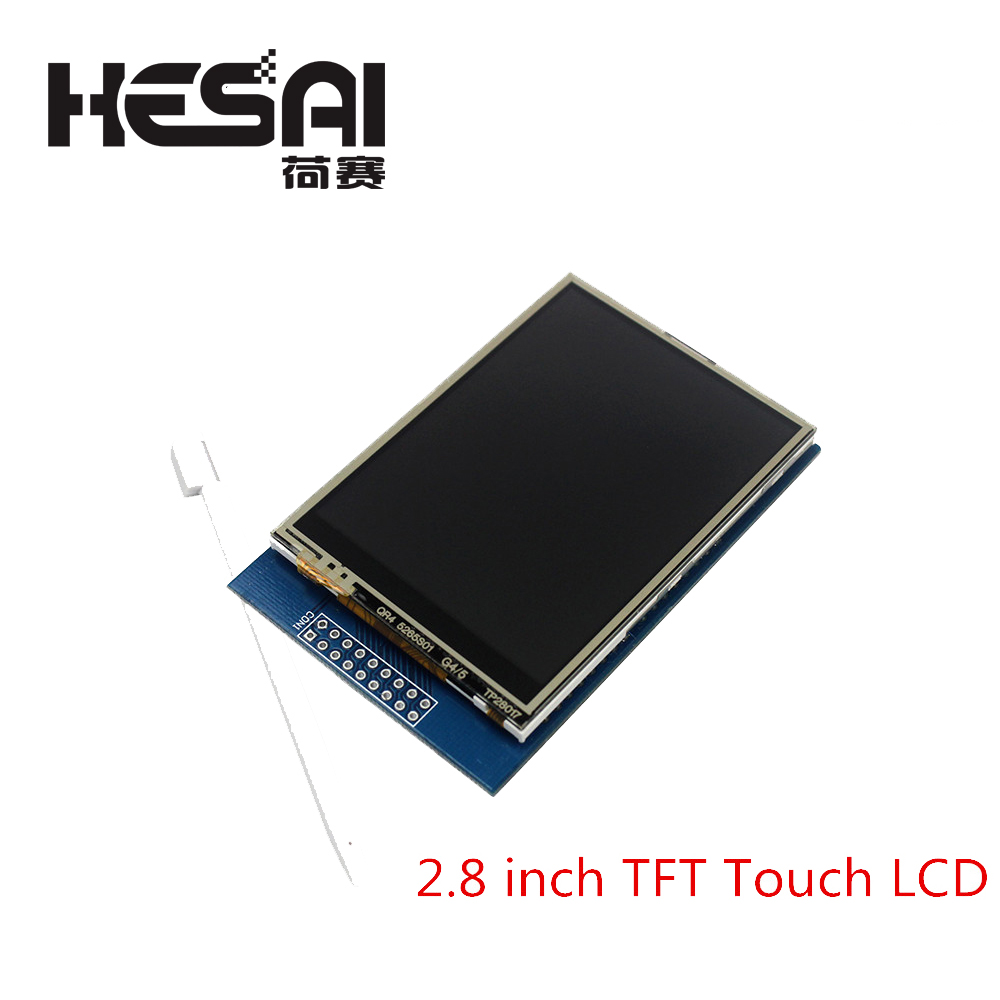 Smart Electronics <font><b>2.8</b></font> inch <font><b>TFT</b></font> Touch LCD Screen Display Module for arduino Compatible with UNO R3 image