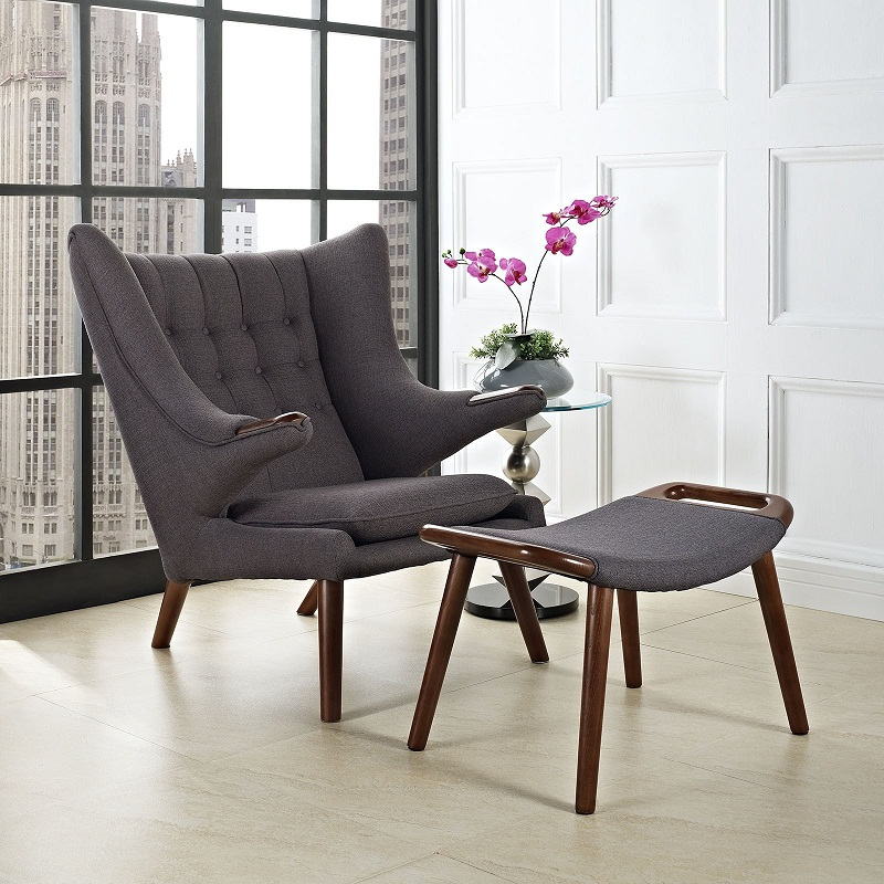Cool Us 428 0 U Best Mid Century Modern Reproduction Upholstery Seating Lounge Chair Ottoman Classic Scandinavian Design Lounge Chiars In Chaise Lounge Gmtry Best Dining Table And Chair Ideas Images Gmtryco