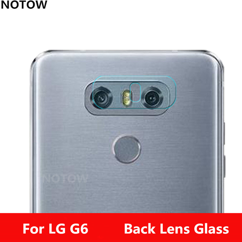 NOTOW flexible Rear Transparent Camera Lens Tempered Glass Film Protector Case For LG G6 G600S H870 H870K H870S G6plus
