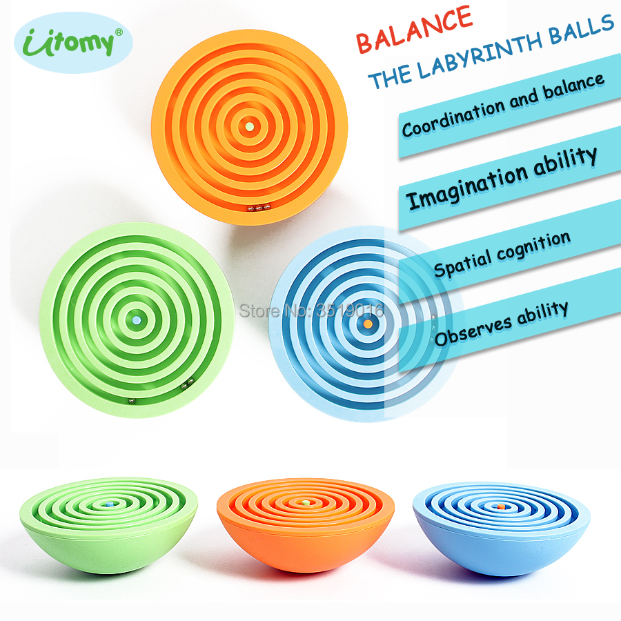 Balance the labyrinth Maze Ball Puzzle Game Classic IQ Balance Educational toy Games Ball In Maze Puzzle Helps Reduce Stress