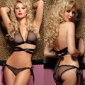 Brand new Lace Sexy Women Lingerie Bra G-String Nightwear Knickers Underwear Sleepwear Set