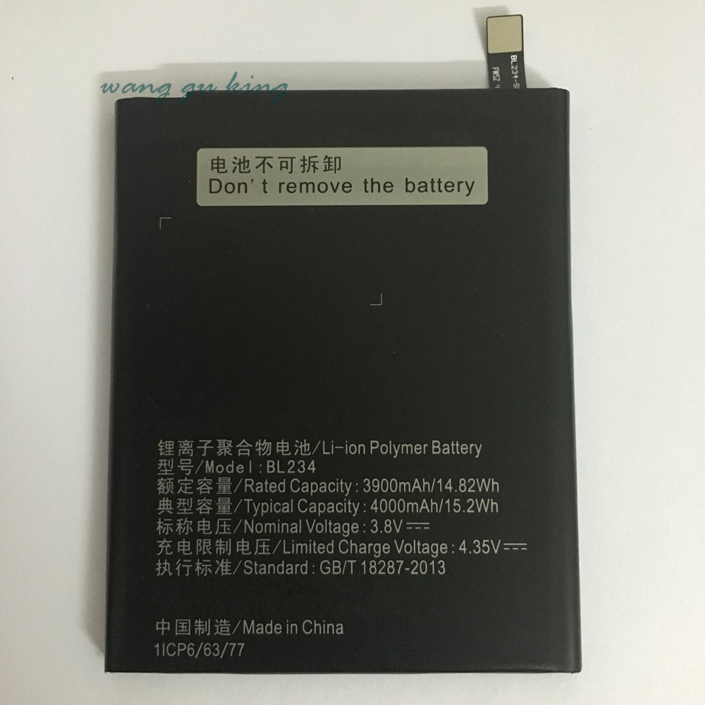 100 Original For Lenovo P70 Battery BL234 4000mAh li ion Back up Battery for Lenovo P70 P70t P70 T Smartphone in Mobile Phone Batteries from Cellphones Telecommunications