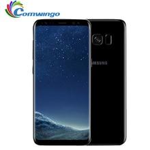 Оригинальный samsung Galaxy S8 плюс SM-G955U 4 Гб Оперативная память 64 Гб Встроенная память 6,2 «одной сим Восьмиядерный Android отпечатков пальцев 12MP 3500 mAh Телефон