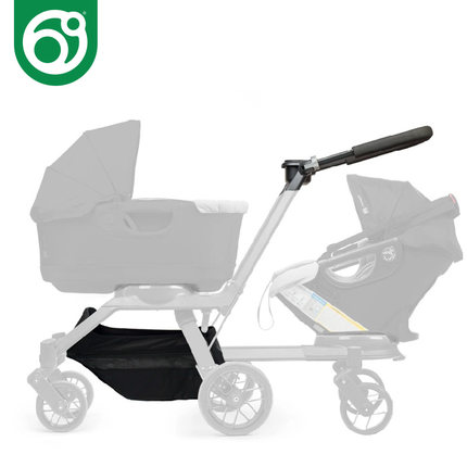 Orbit baby G3 baby stroller accessories--super big room shopping basket on the bottom room on the broom big book