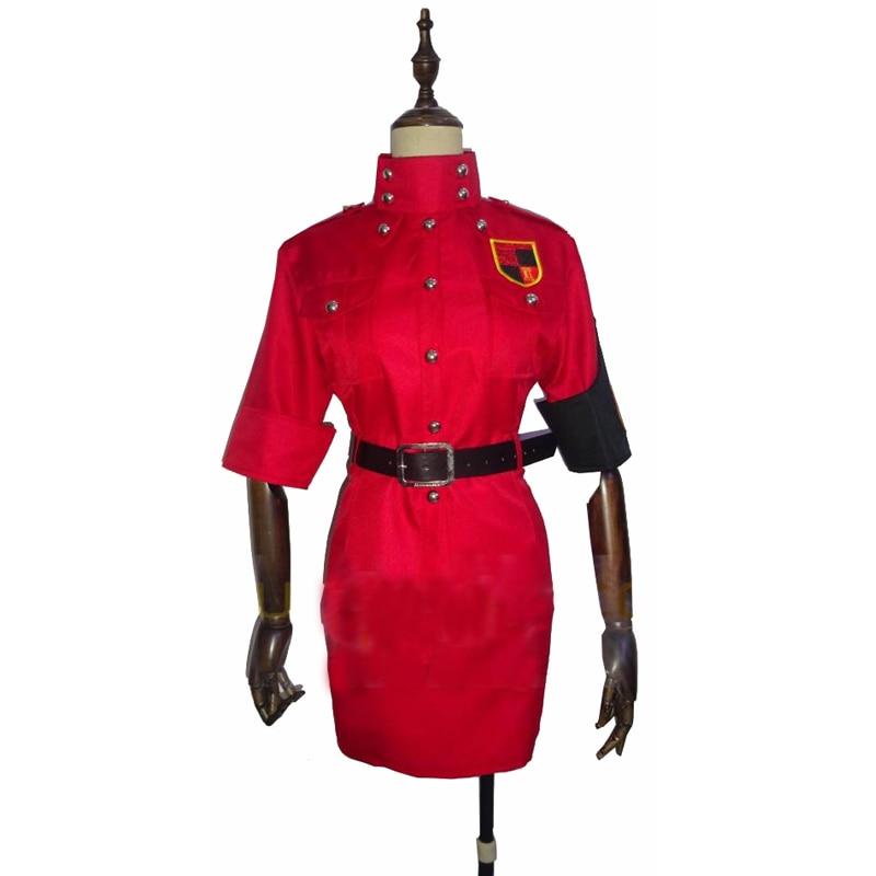 Red Seras Victoria Cosplay: 2018 Hellsing Seras Victoria Cosplay Costume Yellow