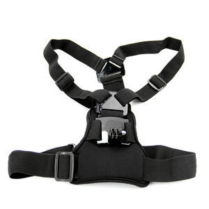 Image 2 - Snowhu para gopro acessórios elástico no peito cinto de montagem cinta gopro hero 9 8 7 6 5 xiaomi yi eken ação câmera gp204