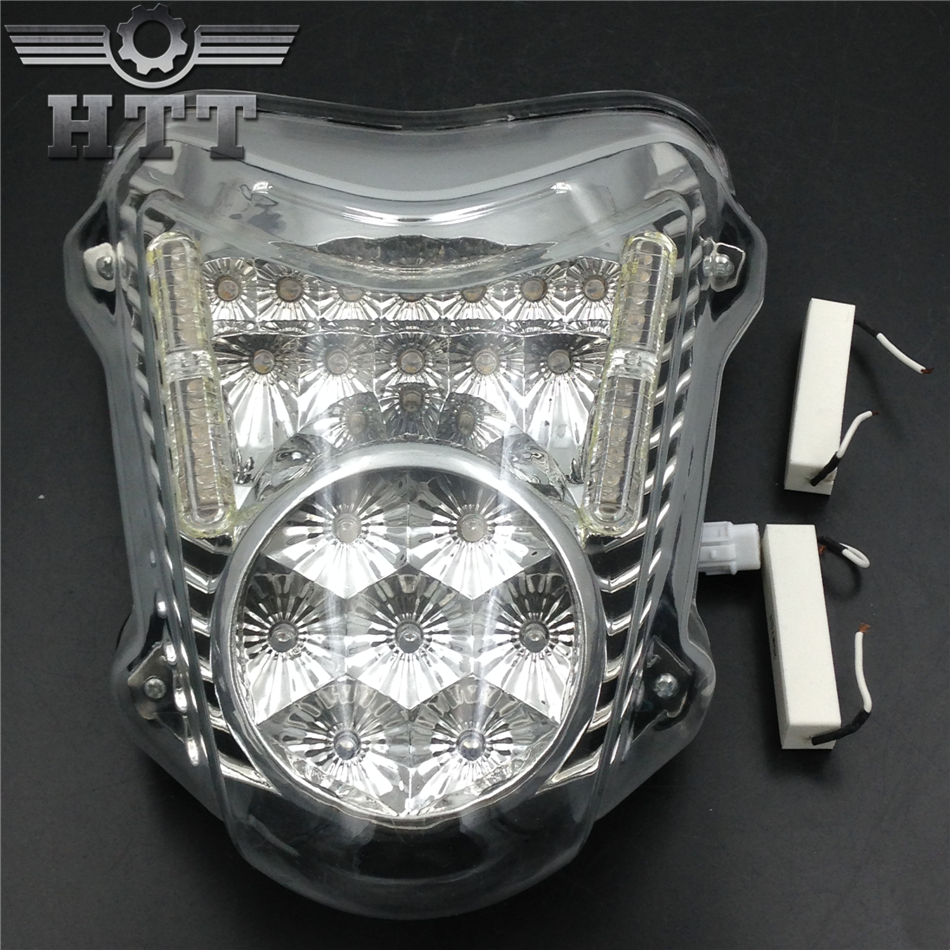 Aftermarket free shipping motorcycle parts LED Tail Brake Light Turn Signals for 2008-2012 Suzuki Hayabusa GSX1300R CLEAR aftermarket free shipping motorcycle parts led tail brake light turn signals for honda 2000 2001 2002 2006 rc51 rvt1000r smoke