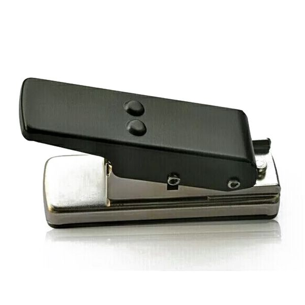 Guitar Plectrum Pick Press Metal+plastic Card Hole Punch Picks Maker Cutter DIY Machine