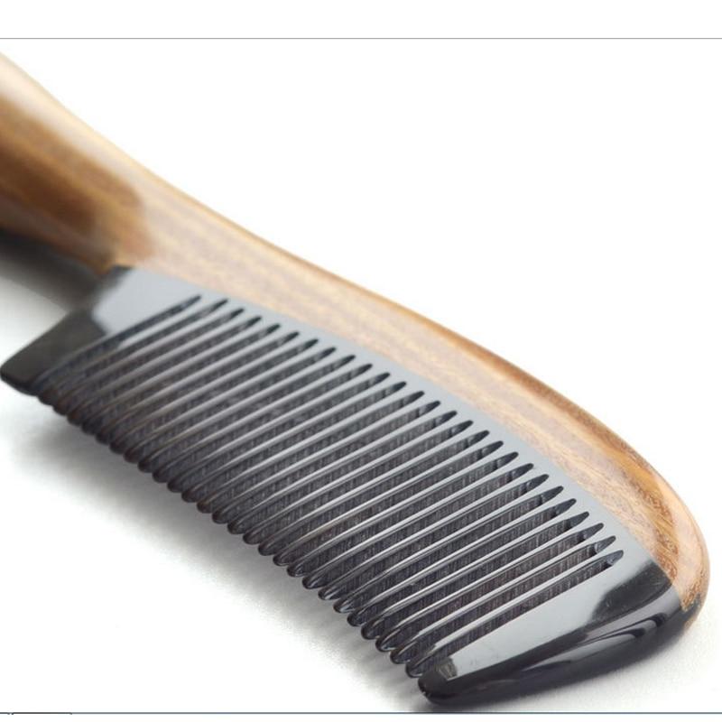 2016 m. Natūralaus jaučio rago sandalmedžio šukos, pagamintos - Plaukų priežiūra ir stilius - Nuotrauka 3