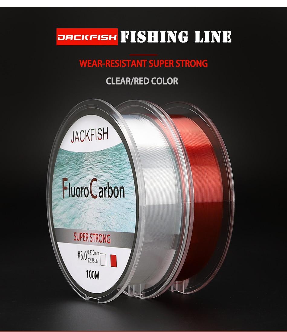 2016 100M Fishing Line Tippet Super Stronger Nylon Durable Line Leaders HOT SELL