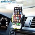Plástico universal car air vent mount holder soporte para teléfono ajustable para teléfono iphone 5s 6 6 plus 6 s plus galaxy s4 huawei xiaomi