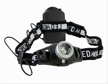 Laser Promotio  Q3-WC 130LM White Light Adjustable Zoom and Angle Head Lamp#2678