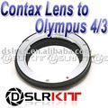 Anel Adaptador de lente para Contax Yashica C/Y CY Lens para Olympus 4/3 adaptador de Montagem