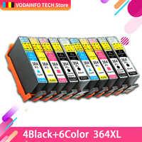 364XL cartucho de tinta de impressora HP 364 XL substituir para HP Photosmart 5510 5515 6510 7520 5520 B010a B109a B209a Deskjet 3070A HP364